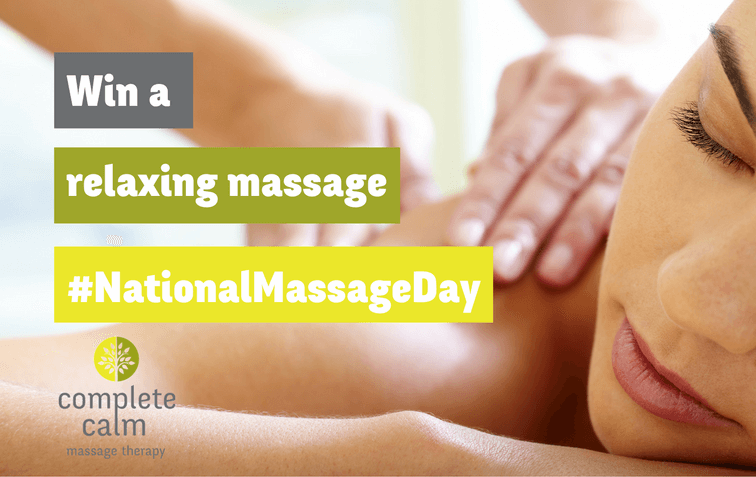 #NationalMassageDay competition