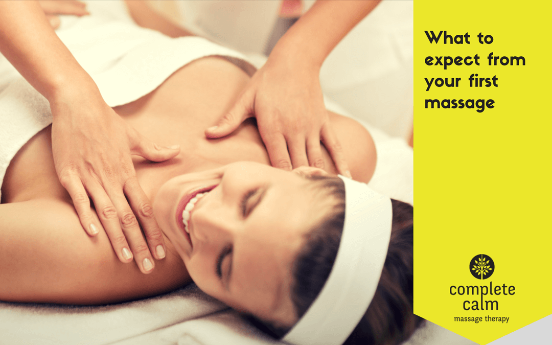 What to expect from your first massage