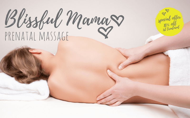 Blissful Mama prenatal massage by Complete Calm Massage Therapy Harrogate