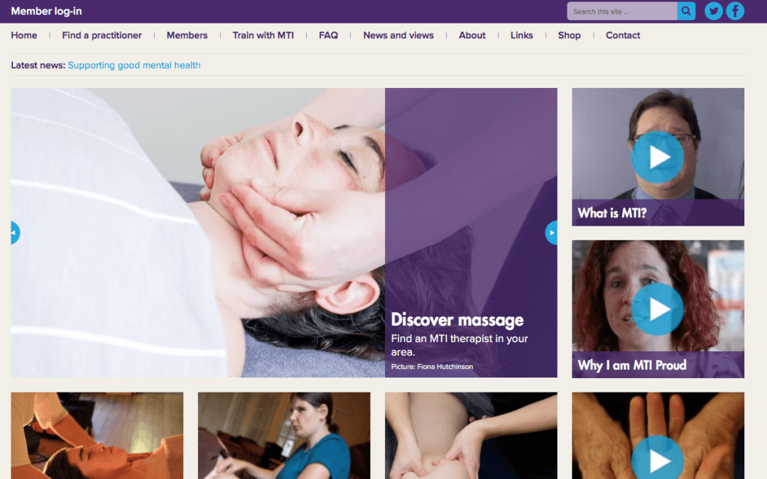 Why choose an MTI massage therapist?