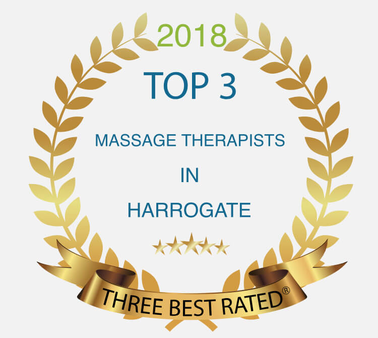 Awarded Top 3 for Massage Harrogate